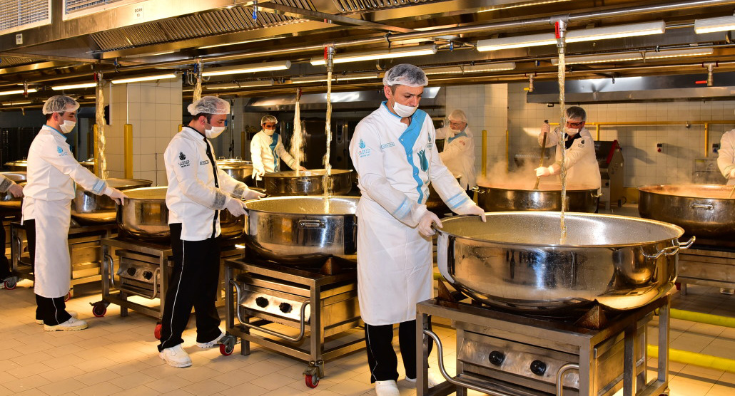 toplu yemek üretim